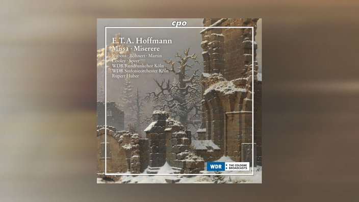 CD Cover E.T.A. Hoffmann: Missa . Miserere