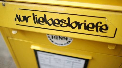 Briefkasten nur Liebesbriefe