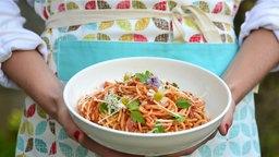 Pasta mit Fenchel und Tomate