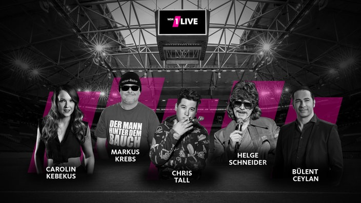 1LIVE Comedy Arena -Header