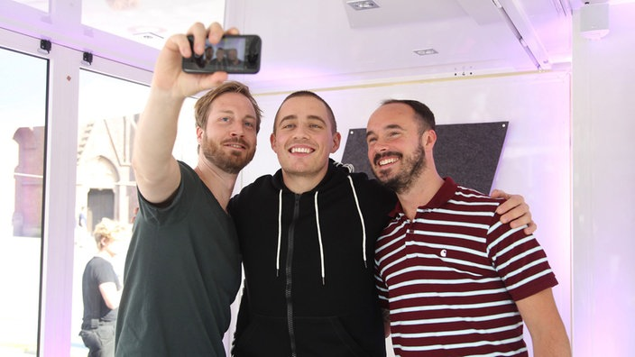 Dermot Kennedy in der Sektor-Lounge