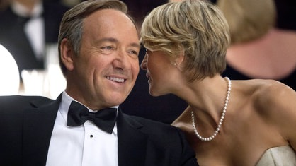 Kevin Spacey und Robin Wright