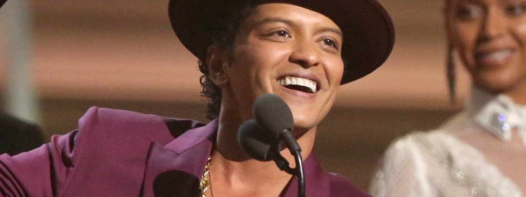 Bruno Mars am 15. Februar 2016 in L.A.