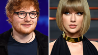 Collage aus Ed Sheeran und Taylor Swift