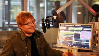 Ed Sheeran zu Gast in 1LIVE