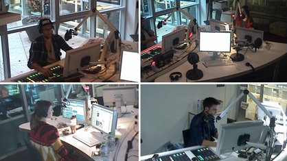 Blick in 1LIVE-Studio
