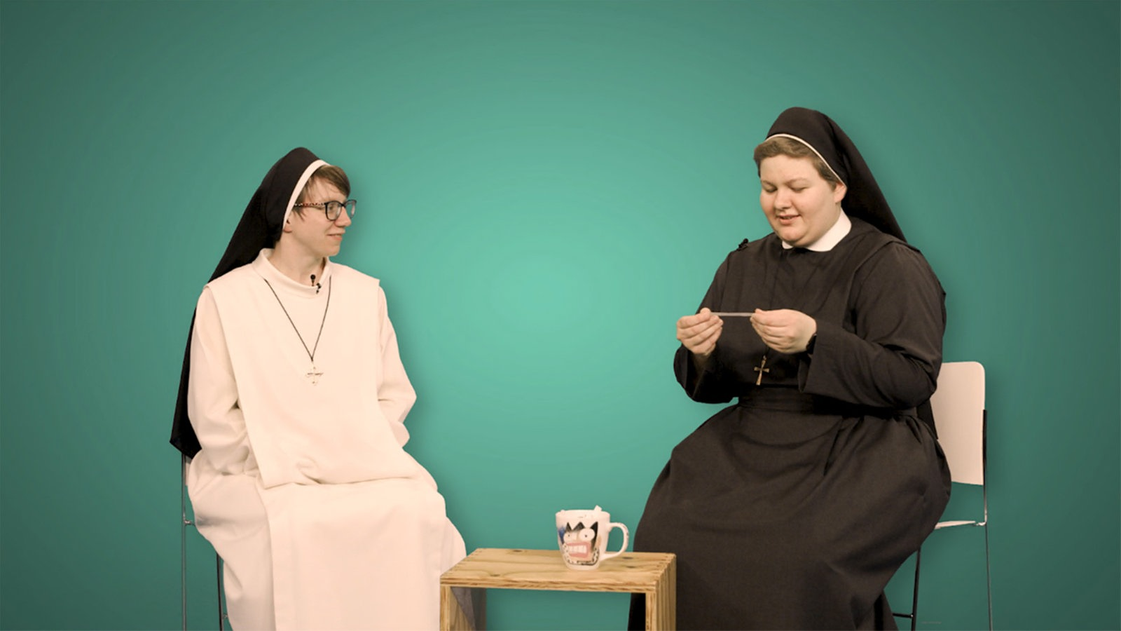 1LIVE Dumm gefragt - Nonnen und Mönche - Dumm gefragt