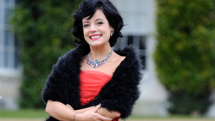 Lily Allen beim Astor Launch Vintage in West Sussex, England