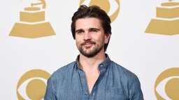 Juanes bei der 57. Grammy Verleihung in Los Angeles