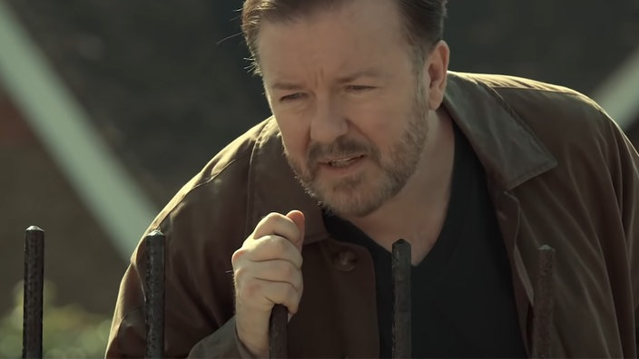 "Rick Gervais in ""After Life"""