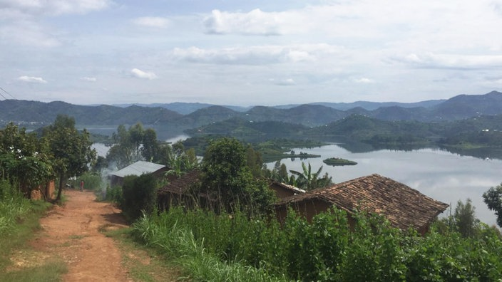 Landschaft in Ruanda.