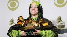 Billie Eilish bei den Grammys