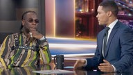 Burna Boy und Trevor Noah in der Daily Show