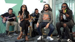 Alborosie in der COSMO Session