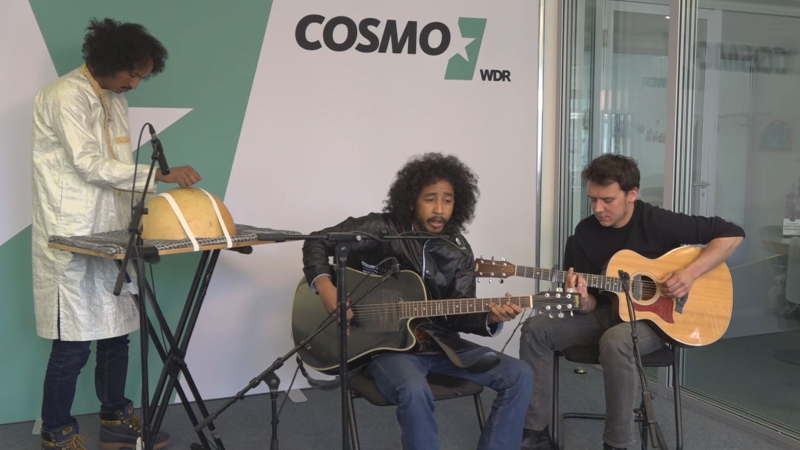 Tamikrest in der Live-Session