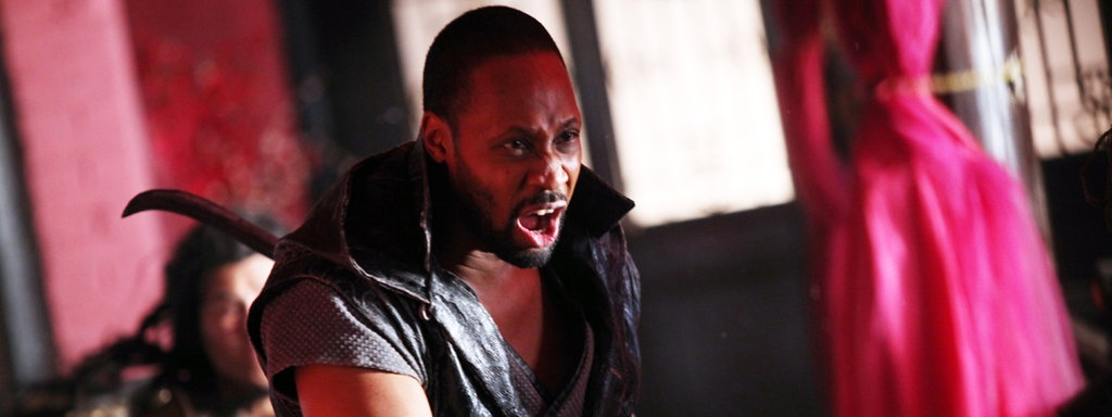 "RZA in ""The Man With The Iron Fists"""