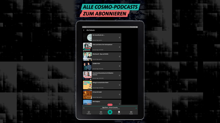 Die COSMO App - Podcasts