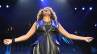 Whitney Houston bei einem Konzert 2010 in Berlin (Archivfoto)