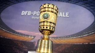 DFB-Pokalfinale Berlin - Der Pott