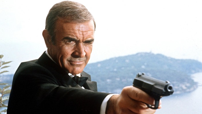 "Sean Connery als James Bond in ""Sag niemals nie"""