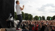 Sunrise Avenue Sänger Samu Haber 2011 in Warburg