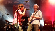 Mike and the Mechanics auf der WDR 2 Bühne in Warburg