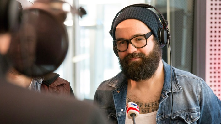 Sascha Eigner, Gitarrist der Band Jupiter Jones im WDR 2 Interview