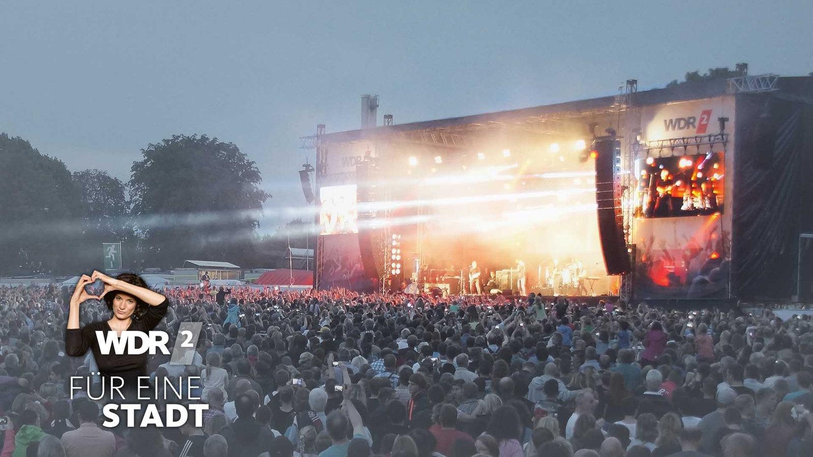 Bhne Des WDR 2 Sommer Open Air 2014 In Remscheid