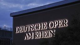 Opernmacher-Werkstatt Deutsche Oper am Rhein