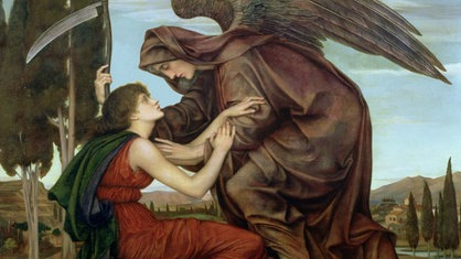 """Engel des Todes"" von Evelyn de Morgan"
