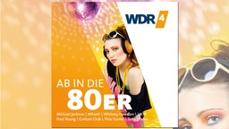 CD Cover der Ab in die 80er! - CD