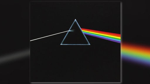 "LP Cover Pink Floyd ""The Dark Side of the Moon"""
