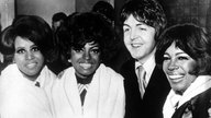 Paul McCartney mit Diana Ross and the Supremes