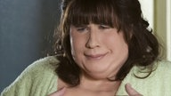 "John Travolta als Edna Turnblad in der Musical-Verfilmung ""Hairspray""."