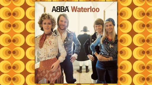 "LP Cover ABBA ""Waterloo"""
