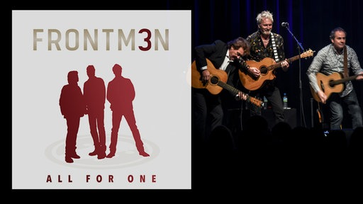 "CD-Cover & Bandbild Frontm3n ""All for one"""