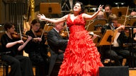 Anna Netrebko  am 15.01.2013 in der Hamburger Laeiszhalle