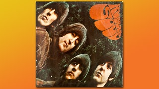 Beatles Rubber Soul Album Cover