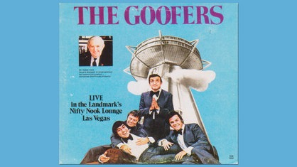 "Plattencover: The Goofers ""Live At The Landmark"""