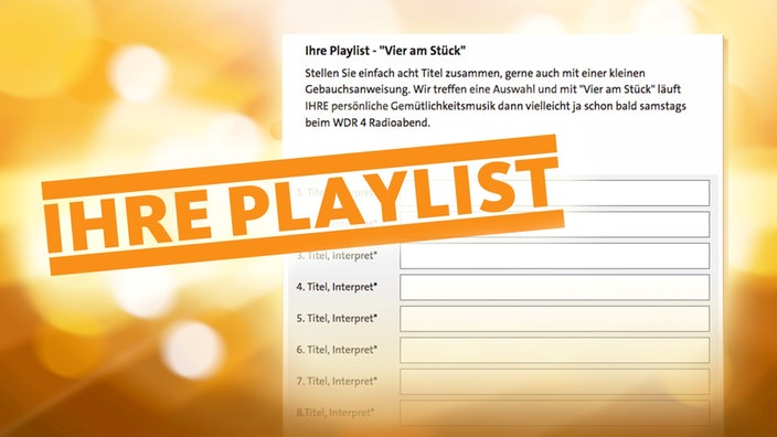 Wdr Songliste