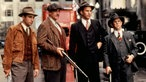 "Andy Garcia, Sean Connery, Kevin Costner und Charles Martin Smith,  in ""The Untouchables"" (1987)"