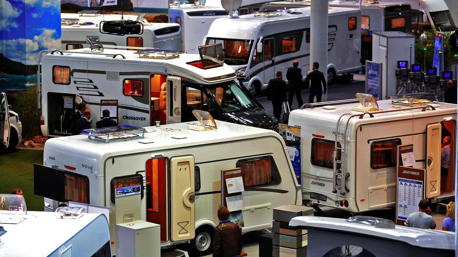 Start des caravan salon in d sseldorf rheinland for Salon caravaning