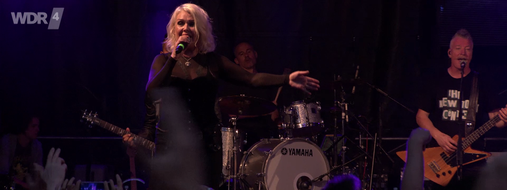"Kim Wilde mit ""You came"" auf dem WDR 4 Sommer Open Air in Bonn"