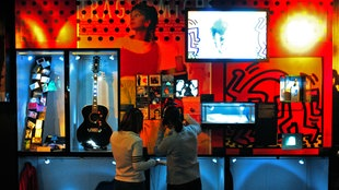Einblick ins Rock'n'Pop Museum in Gronau