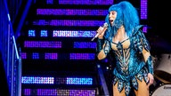 "Cher auf ihrer ""Here We Go Again Tour"""