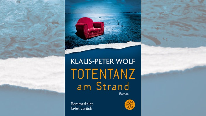"""Totentanz am Strand"" von Klaus-Peter Wolf, Cover"