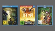 The Jungle Bock, Life of Pi, Das Dschungelbuch, auf DVD & Blu Ray, Cover