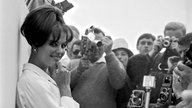 Claudia Cardinale in Cannes 1963