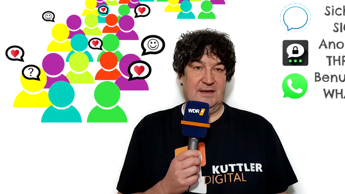 Kuttler Digital: Messenger: WhatsApp, Threema und Co.