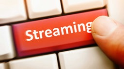 Streaming-Knopf